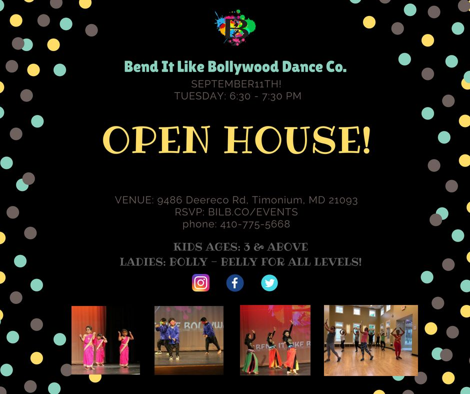 BILB DANCE CO. NOW OPEN!